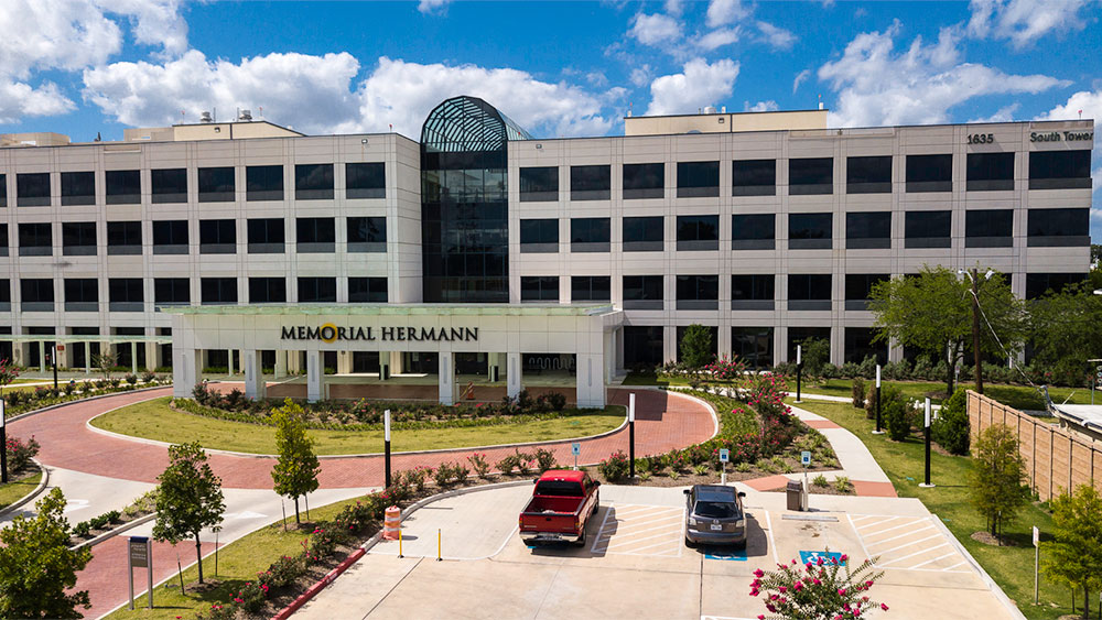 Memorial Hermann Greater Heights Entrance