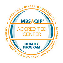 MBSAQIP Accredited Center Quality Program Seal