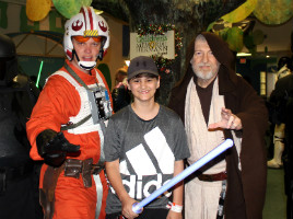 Childrens hospital with Star Wars Characters