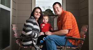 Wesley Robinson family