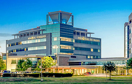 Exterior photo of Memorial Hermann Sugar Land hospital